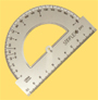 Protractor STIRFLEX Pro 180� and 360�.